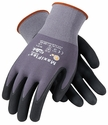 PIP G-Tek Maxiflex Ultimate Gloves with Black Micro-Foam Nitrile Palm & Finger Tips