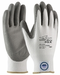 PIP Great White 3GX, 13 Gauge Dyneema Diamond with Gray Polyurethane Palm And Fingers