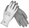 PIP Great White Seamless Knit Dyneema/Lycra Glove with Polyurethane Coated Smooth Grip on Palm & Fingers