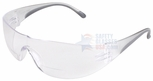 PIP Zenon Z12R Bifocal Safety Glasses with Black Temple Trim and Clear Lens