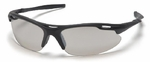 Pyramex Avante Safety Glasses with Black Frame and Indoor-Outdoor Lens