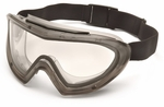 Pyramex Capstone Direct/Indirect Vent Dual-Pane Lens Clear Anti-Fog Goggle