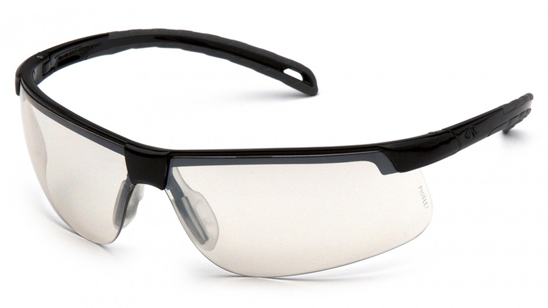 Pyramex Ever-Lite Safety Glasses with Black Frame and Indoor-Outdoor Lens
