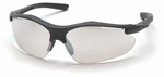 Pyramex Fortress Safety Glasses with Black Frame and Indoor-Outdoor Lens