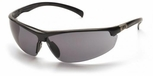 Pyramex Forum Safety Glasses with Black Frame and Gray Lens