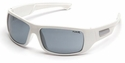 Pyramex Furix Safety Glasses with White Frame and Gray Anti-Fog Lens