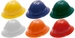 Pyramex Hard Hat with Full Brim and 6-Point Ratchet Suspension