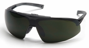 Pyramex Onix Plus Safety Glasses with Clear Anti-Fog Lens and Shade 5 Flip Lens