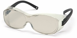 Pyramex OTS Over-The-Glass Safety Glasses with Indoor-Outdoor Lens