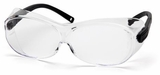 Pyramex OTS XL Over-Prescription Safety Glasses with Large Clear Anti-Fog Lens