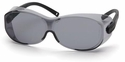 Pyramex OTS XL Over-Prescription Safety Glasses with Large Gray Lens