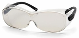 Pyramex OTS XL Over-Prescription Safety Glasses with Large Indoor/Outdoor Lens