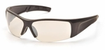 Pyramex PMX-Torq Safety Glasses with Black Frame and Indoor/Outdoor Lens