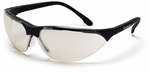 Pyramex Rendezvous Safety Glasses with Black Frame and Indoor-Outdoor Lens