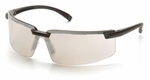 Pyramex Surveyor Safety Glasses with Black Frame and Indoor/Outdoor Lens