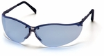 Pyramex V2 Metal Safety Glasses with Infinity Blue Lens