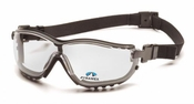 Pyramex V2G Bifocals with Black Frame and Clear Anti-Fog Lens