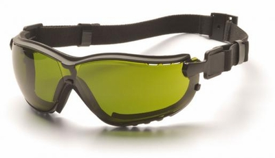 Pyramex V2 Goggles with Black Frame and IR Shade 3.0 Lens
