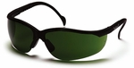 Pyramex Venture 2 Safety Glasses with Black Frame and Shade 3.0 Lens