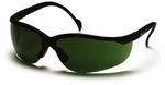 Pyramex Venture 2 Safety Glasses with Black Frame and Shade 5.0 Lens