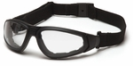 Pyramex XSG Goggle with Clear Anti-Fog Lens