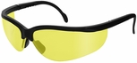 Radians Journey Safety Glasses with Black Frame and Amber Lens