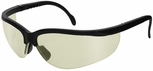 Radians Journey Safety Glasses with Black Frame and Indoor-Outdoor Lens