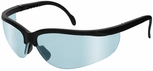 Radians Journey Safety Glasses with Black Frame and Light Blue Lens