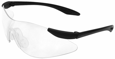 Radians Strike Force II Safety Glasses with Clear Anti-Fog Lens