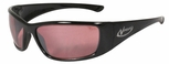 Radians Vengeance Safety Glasses with Black Frame and I/O Vermillion Lens