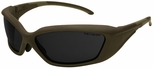 Revision Hellfly Ballistic Sunglasses with Taupe Frame and Smoke Lens
