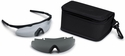 Smith Elite Aegis Safety Glasses Field Kit with Black Frame and Clear and Gray Lenses
