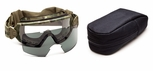 Smith Elite Outside The Wire Military Goggle with MultiCam Frame and Clear and Gray Lenses
