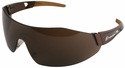 Smith & Wesson 44-Magnum Safety Glasses with Black Temples and Brown AF Lens