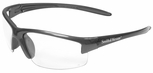 Smith & Wesson Equalizer Safety Glasses with Gun Metal Frame and Anti-Fog Clear Lens