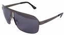 TapouT Discipline Sunglasses with Silver Frame and Gray Lens