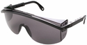 Uvex Astrospec 3000 Safety Glasses with Black Frame/Spatula Temples and Gray XTR Anti-Fog Lens