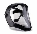 Uvex Bionic Shield - Matte Black with Clear Face Shield