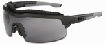 Uvex ExtremePro Safety Glasses with Dark Gray Supra-Dura Anti-Scratch Lens