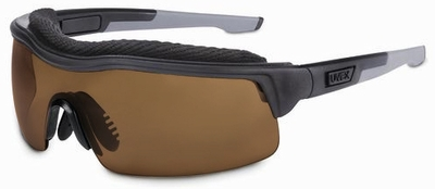 Uvex ExtremePro Safety Glasses with Espresso Dura-Streme Anti-Fog Lens