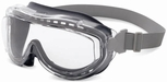 Uvex Flex Seal Goggles with Gray Frame and Clear Uvextreme Anti-Fog Lens