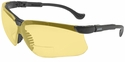 Uvex Genesis Bifocal Safety Glasses with Amber Ultra-Dura Lens