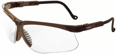 Uvex Genesis Safety Glasses with Earth Frame and Clear Lens