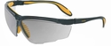 Uvex Genesis X2 Safety Glasses with Black/Yellow Frame and Reflect 50 UD Lens