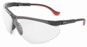 Uvex Genesis XC Safety Glasses with Black Frame and Clear Anti-Fog Lens