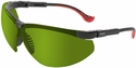 Uvex Genesis XC Safety Glasses with Black Frame and Shade 2 Lens