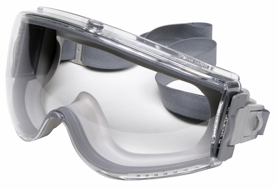 Uvex Stealth Goggle with Clear Anti-Fog Lens