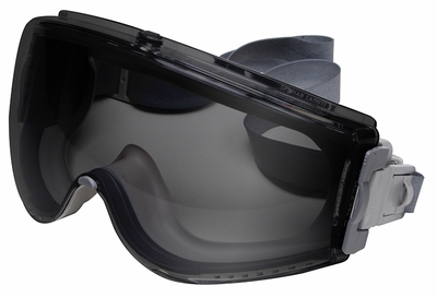 Uvex Stealth Goggle with Gray Anti-Fog Lens