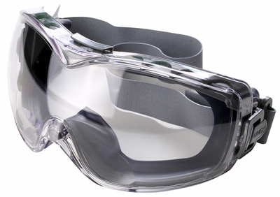 Uvex Stealth Reader Safety Goggles with Clear Bifocal Anti-Fog Lens