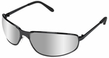 Uvex Tomcat Safety Glasses with Silver Mirror Lens